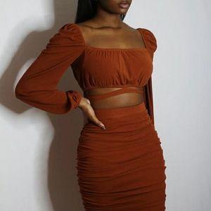 Two Piece Skirt Set
